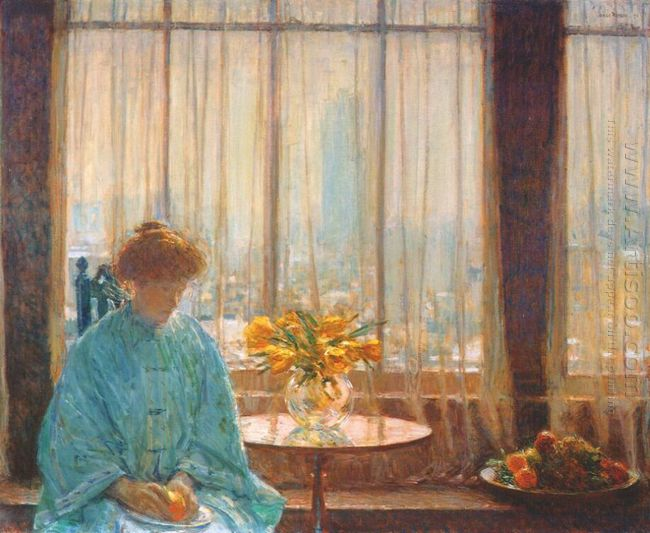 The Breakfast Room Winter Morning 1911