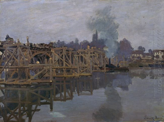 The Bridge Under Repair 1872