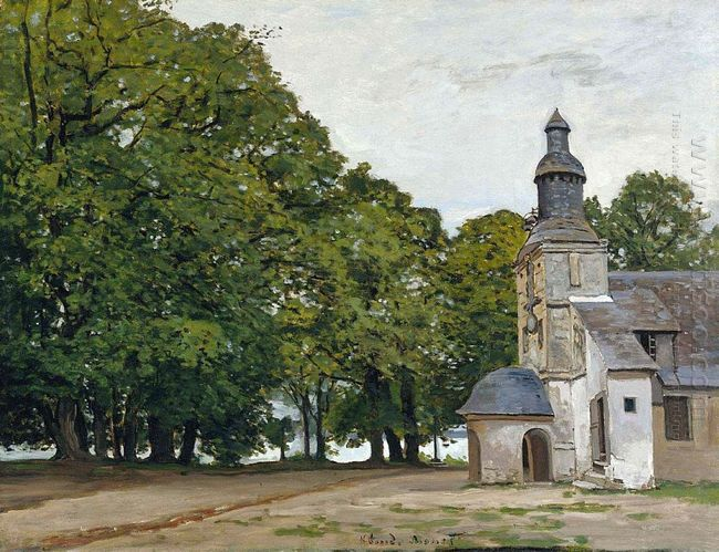 The Chapel Notre Dame De Grace At Honfleur