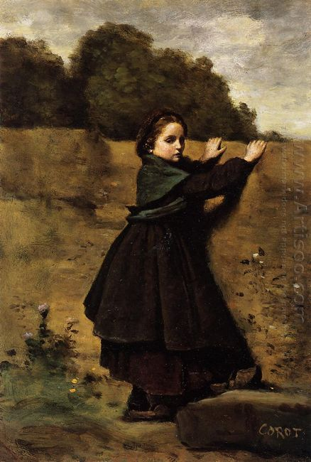 The Curious Little Girl 1860
