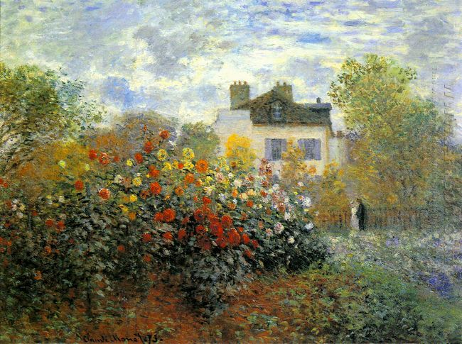 The Garden Of Monet At Argenteuil