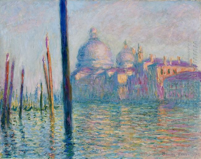 The Grand Canal In Venice 01