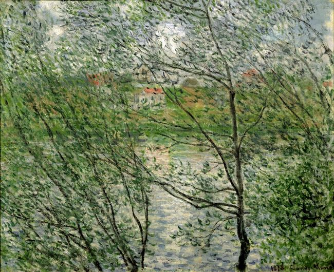 The Isle Grande Jatte On The Siene