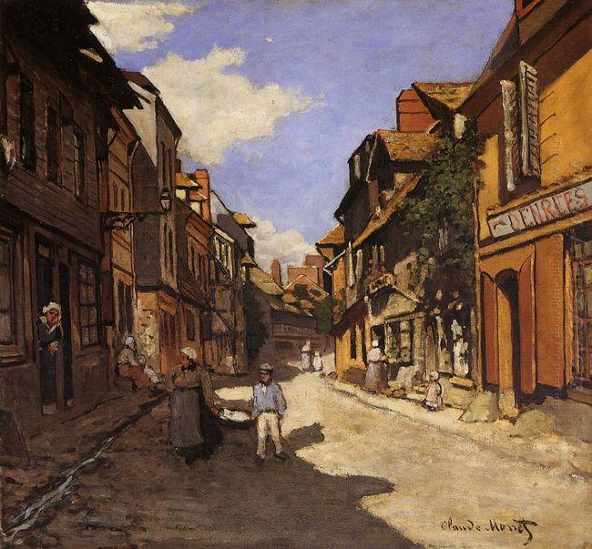 The La Rue Bavolle At Honfleur 2