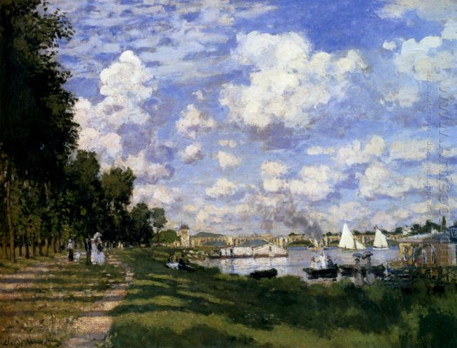 The Marina At Argenteuil 1872