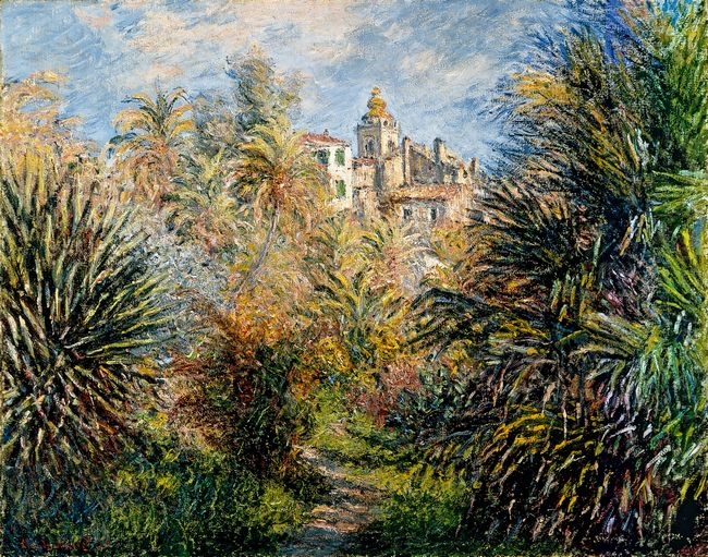 The Moreno Garden At Bordighera