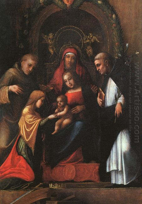 The Mystic Marriage Of St Catherine 1515