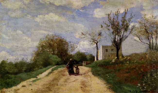 The Path Leading To The House 1854