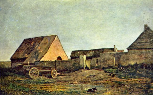 The Peasant Yard 1855 1