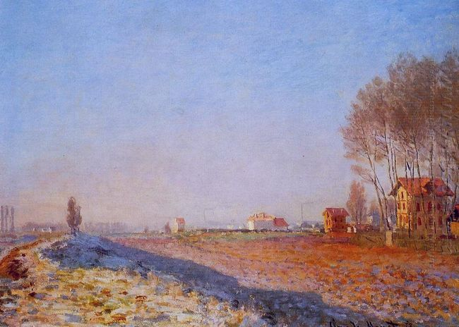 The Plain Of Colombes White Frost 1873