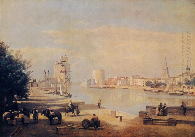 The Port Of La Rochelle 1851