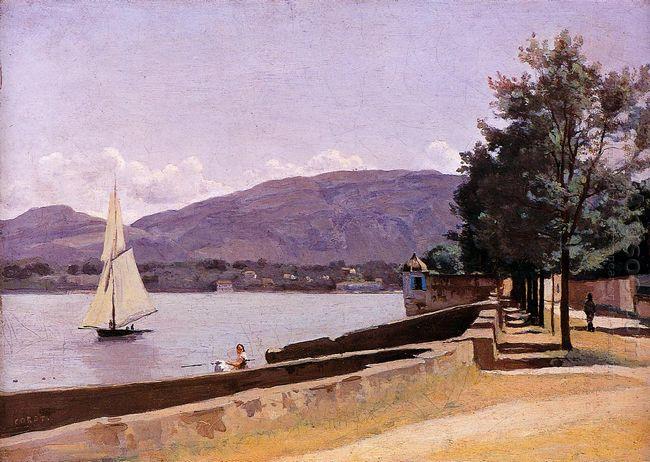 The Quai Des Paquis Geneva 1842