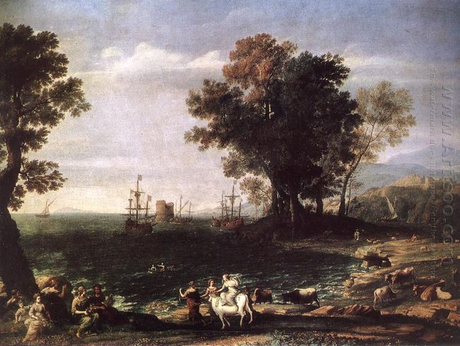 The Rape Of Europa 1655 1