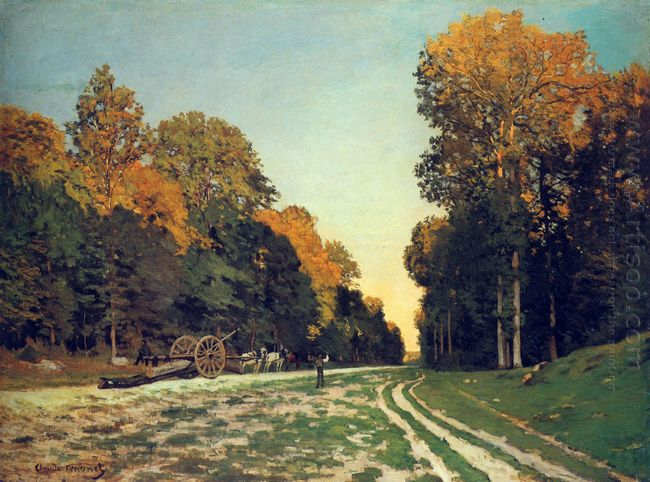The Road From Chailly To Fontainebleau