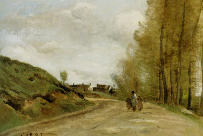 The Road In Gouvieux