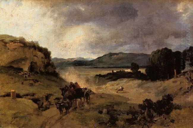 The Roman Campagna La Cervara 1827