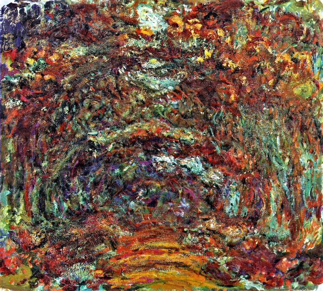 The Rose Path Giverny 1922