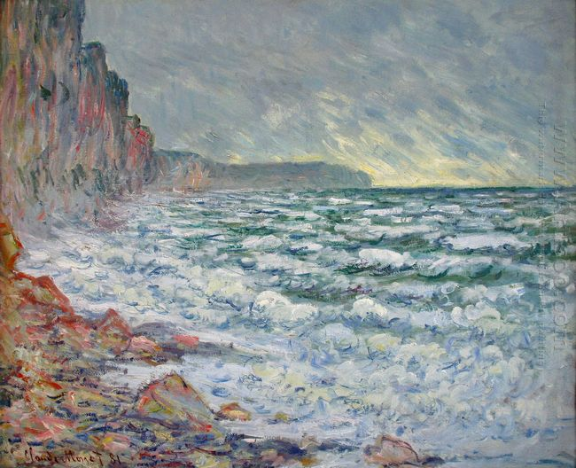 The Sea At Fecamp 1881