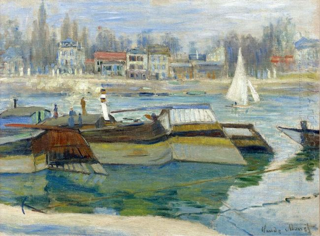 The Seine At Asnieres 03