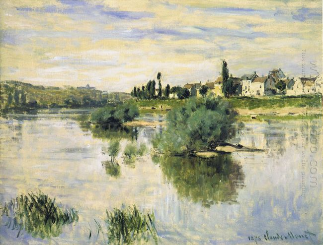 The Seine At Lavacourt