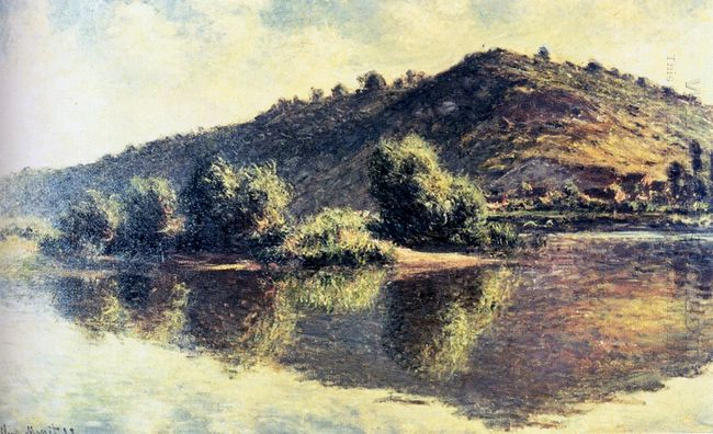 The Seine At Port Villez 1883