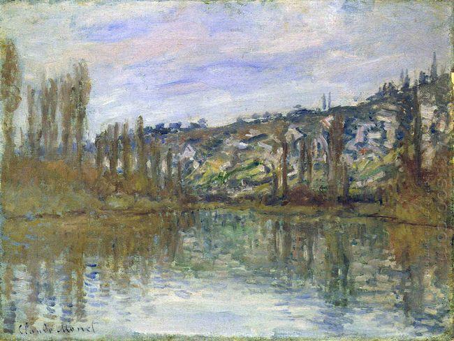 The Seine Near Vetheuil