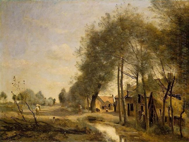 The Sin Le Noble Road Near Douai 1873 1