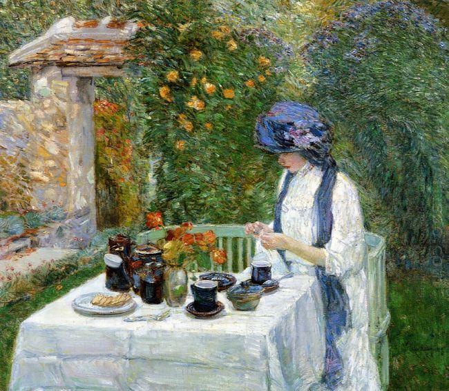 The Terre Cuite Tea Set Aka French Tea Garden