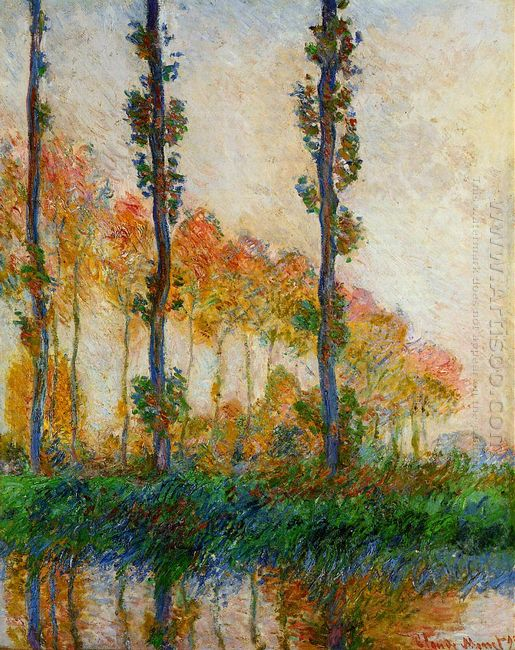The Three Trees Autumn 1891