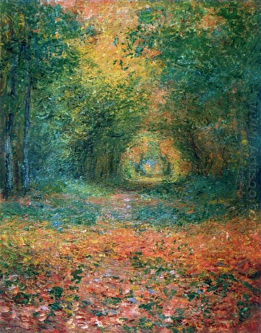 The Undergrowth In The Forest Of Saint Germain