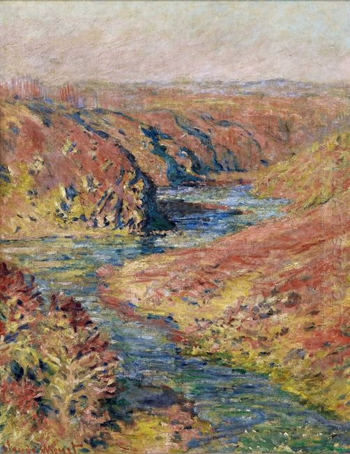 The Valley Of Creuse At Fresselines