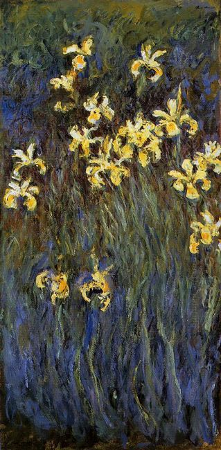 The Yellow Irises 1917