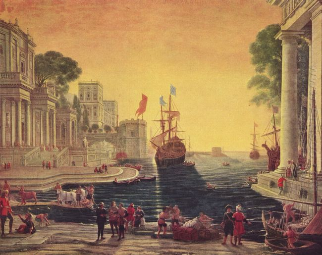 Ulysses Returning Chryseis To Her Father 1644