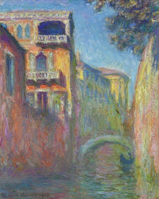 Venice Rio De Santa Salute 1908
