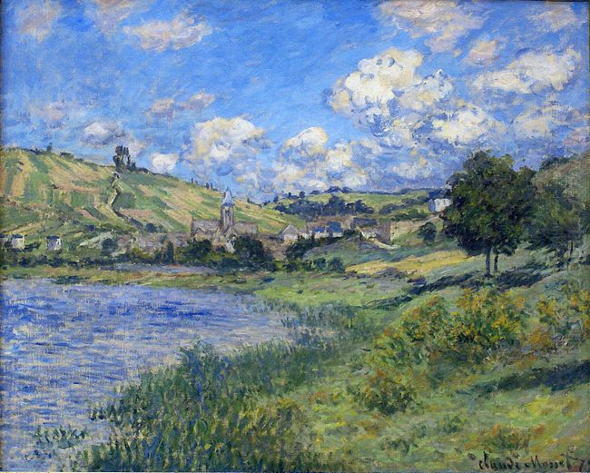 Vetheuil Paysage