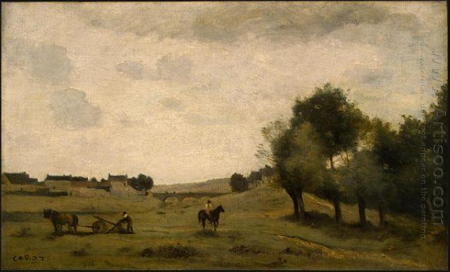 View Near Epernon 1860
