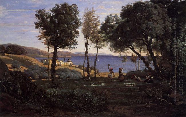 View Near Naples 1841