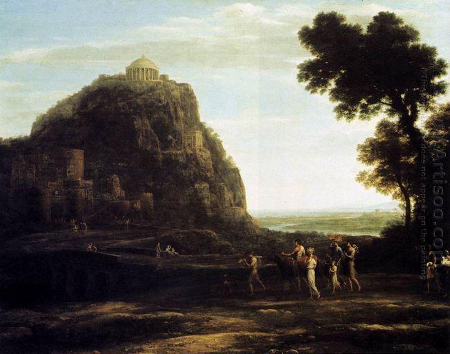 View Of Delphi 1672