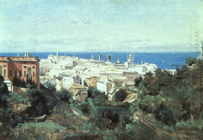 View Of Genoa 1834