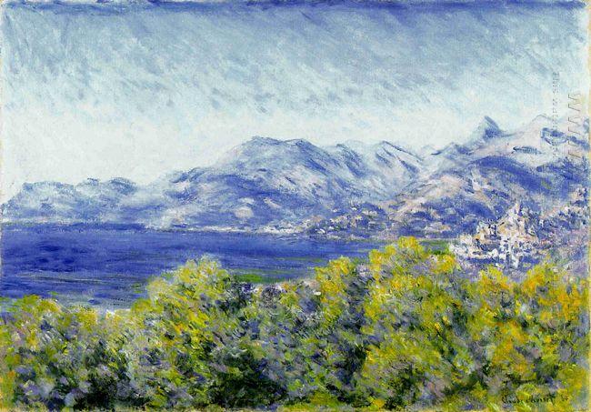 View Of Ventimiglia 1884