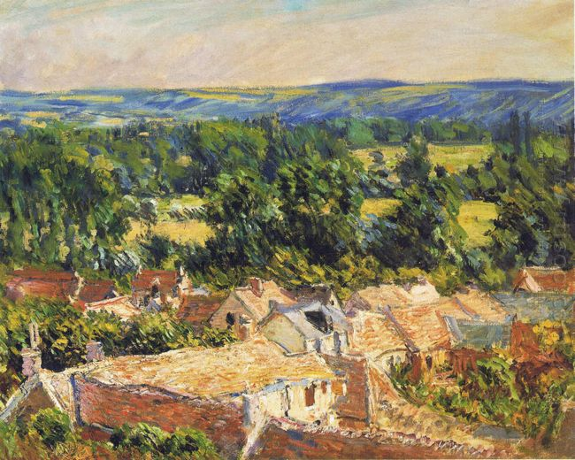View On Village Of Giverny