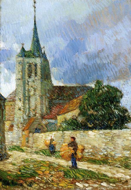 Village Scene Breton