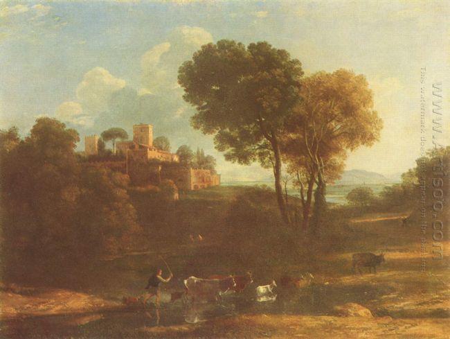 Villa In The Roman Campagna