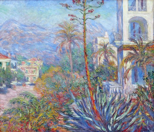 Villas At Bordighera 1884