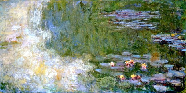 Water Lily Pond 1919 1