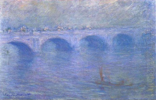 Waterloo Bridge In The Fog 1901