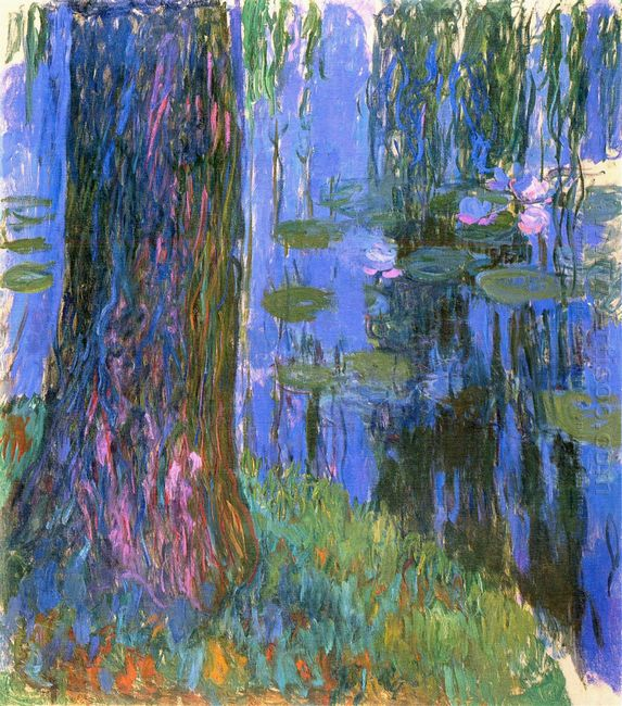 Weeping Willow And Water Lily Pond 2 1919