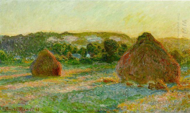 Wheatstacks End Of Summer 1891