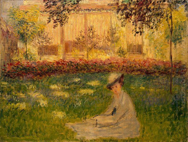 Woman In A Garden 1876