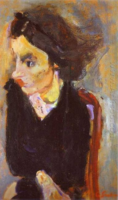 Woman In Profile Portrait Of Madame Tennent